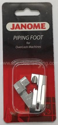 Janome - 202039000 - Piping Foot Set (1_8 inch & 3_16 inch)