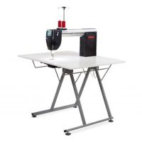 Bernina Q20 Long Arm Machine on Folding Table