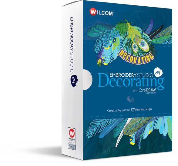 Wilcom E4 Decorating Software Box Front