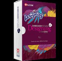 Wilcom Designing Logo Software Box Front