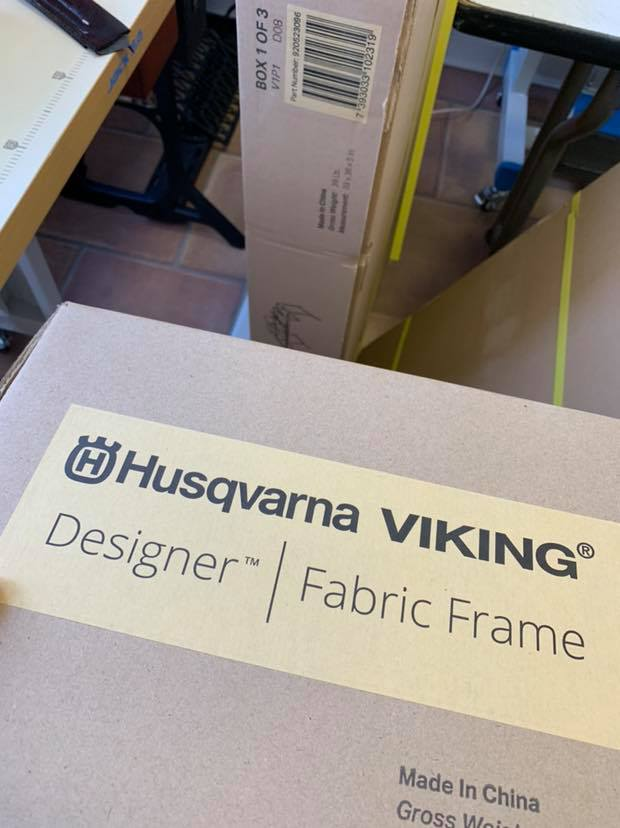 #FabricFrame Arrival