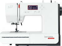 Straight on view of the Bernina Bernette B37 Sewing Machine