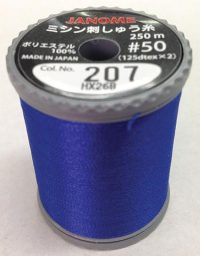 Janome Blue Thread j-207207