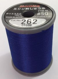 Janome Blue Ink Thread Spool