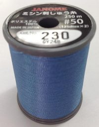 Jannome Bright Blue Thread Spool