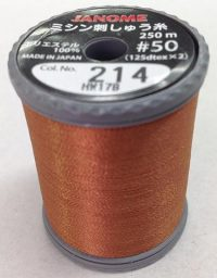 Janome Brown J-207214 Thread Spool