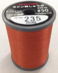 Janome Burnt Orange J-207235 Thread Spool