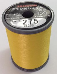Janome Canary Yellow J-207275 Thread Spool