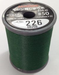 Janome Christmas Green J-207226 Thread Spool
