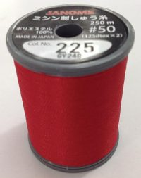 Janome Christmas Red J-207225 Thread Spool