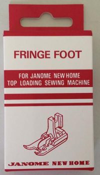 Janome Fringe Foot - Category B - 200017109 Outer packaging