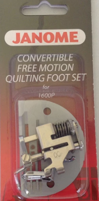 Janome Convertible Free - Motion Quilting Foot Set - 767433004