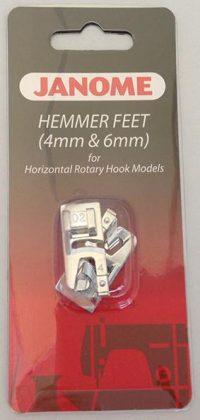 Janome Hemmer Foot Set (4mm & 6mm) - Category B/C - 200326001