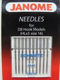 Janome HL Needles - Size 16 - Memory Craft 1600P & HD9 Series ONLY - 767814003