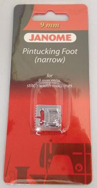 Janome Pinktuck Foot (Narrow - 5 Groove) - Category D - 202094003