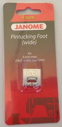 Janome Pintuck Foot (Wide - 7 Groove) - 202093002