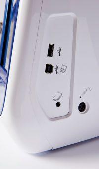 Brother V7 USB Port View