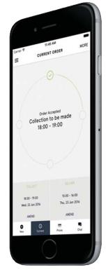 ihateironing app on a phone