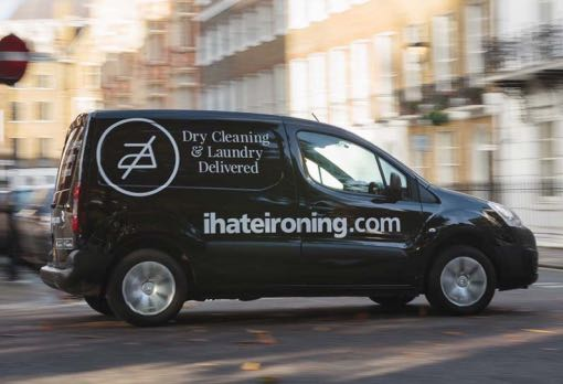 ihateironing van out for collection