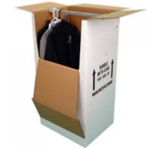 Tall box with horizontal top bar