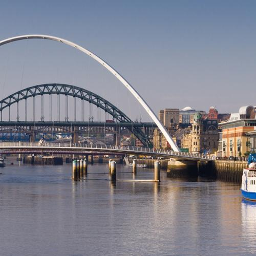 Bridge over the river Tyne