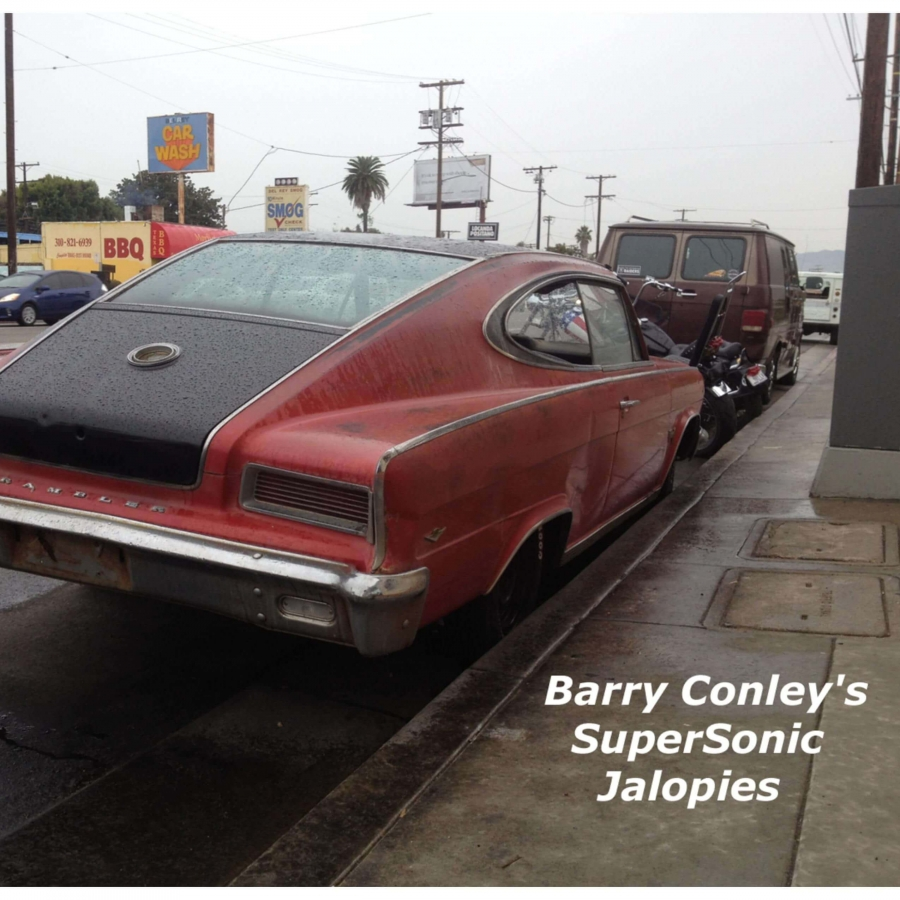 Royalty free music album Barry Conley's Supersonic Jalopies