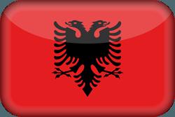 علم ألبانيا ثري-دي 3D