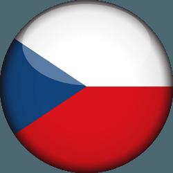 علم التشيك دائري / ثري-دي 3D