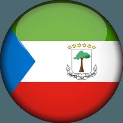 علم غينيا الاستوائية دائري / ثري-دي 3D