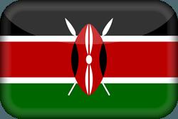 علم كينيا ثري-دي 3D