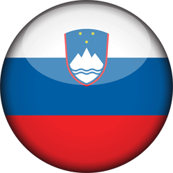علم سلوفينيا دائري / ثري-دي 3D