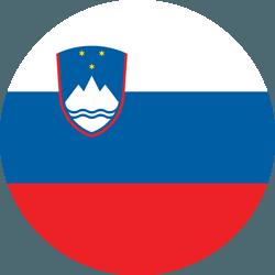 علم سلوفينيا على شكل مستدير - كرو