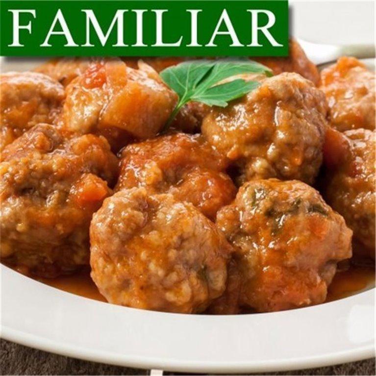 Albóndigas de Ternera en Salsa de la Abuela FAMILIAR
