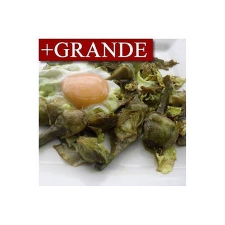 Alcachofas con Huevo +GRANDE