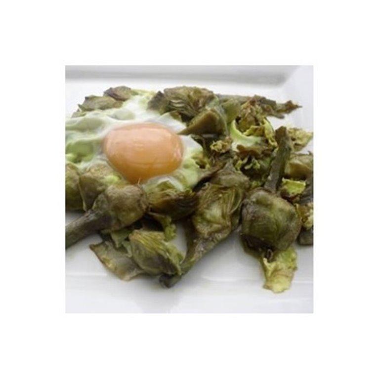 Alcachofas con Huevo