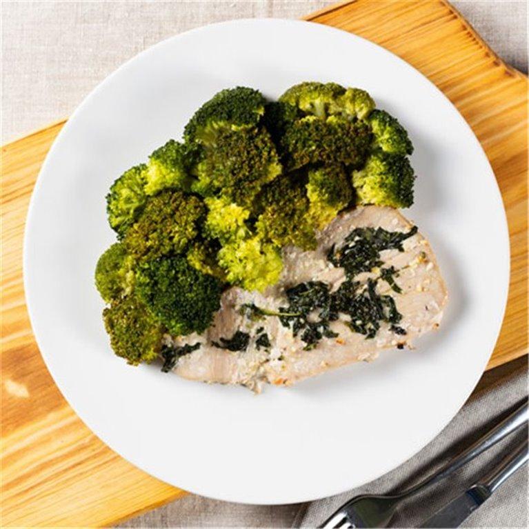 Atún con brócoli