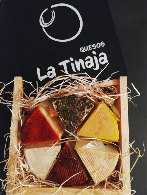 Caja navideña de quesos la tinaja