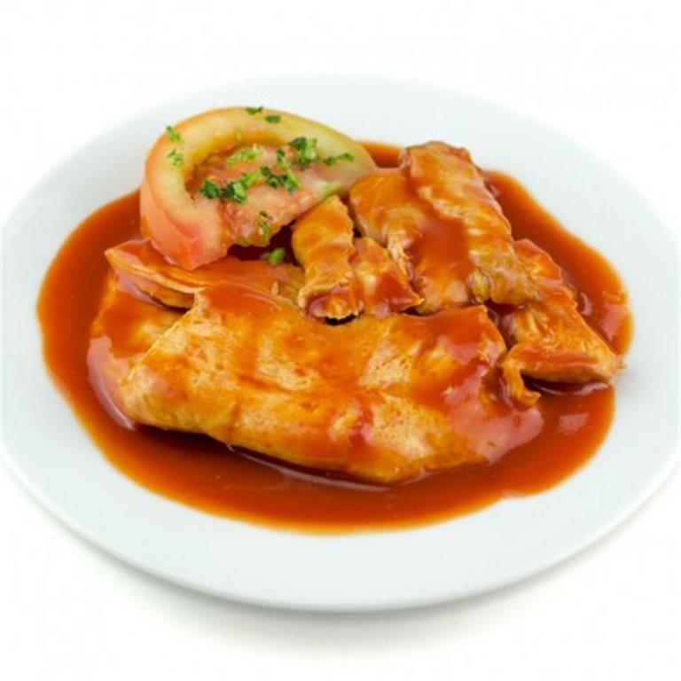 Carne de Pavo con Tomate.
