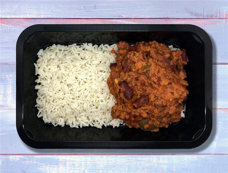 Chili con carne y arroz basmati Gainz (LF4G)