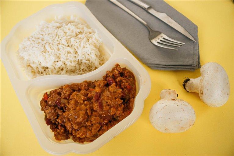 Chili con carne y arroz basmati (LF4)