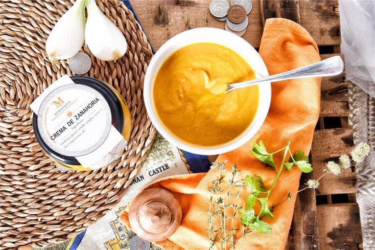 Crema de Zanahoria y genjibre