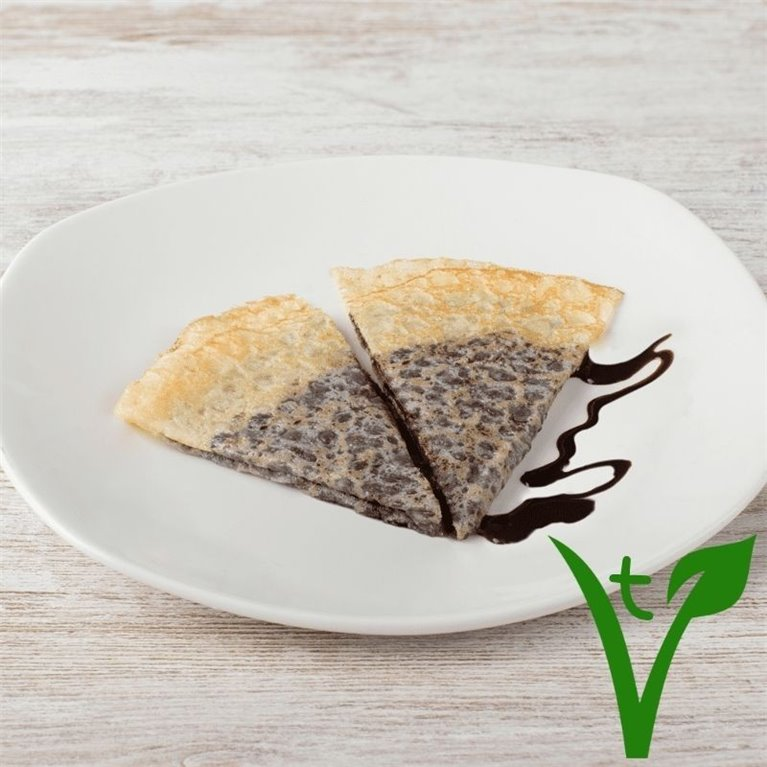 Crep de chocolate