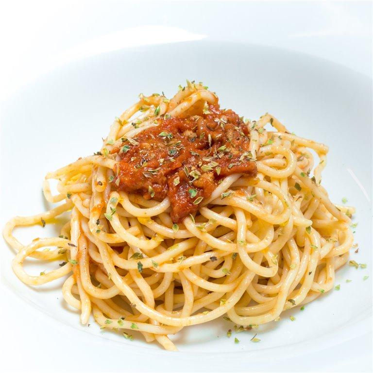 Espaguetis a la boloñesa 300gr, 1 ud