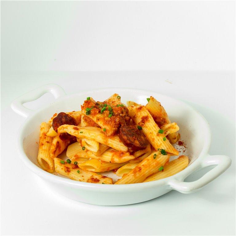 Macarones con salsa arrabiata 300gr, 1 ud