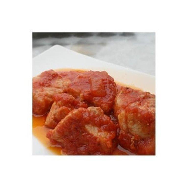 Estofado de Cerdo con Tomate