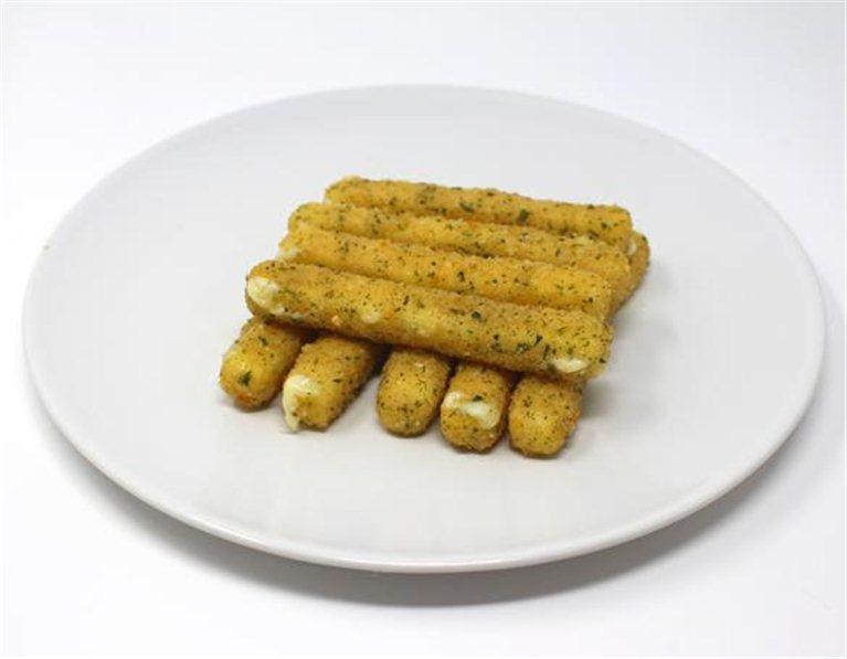 Finger de mozzarella