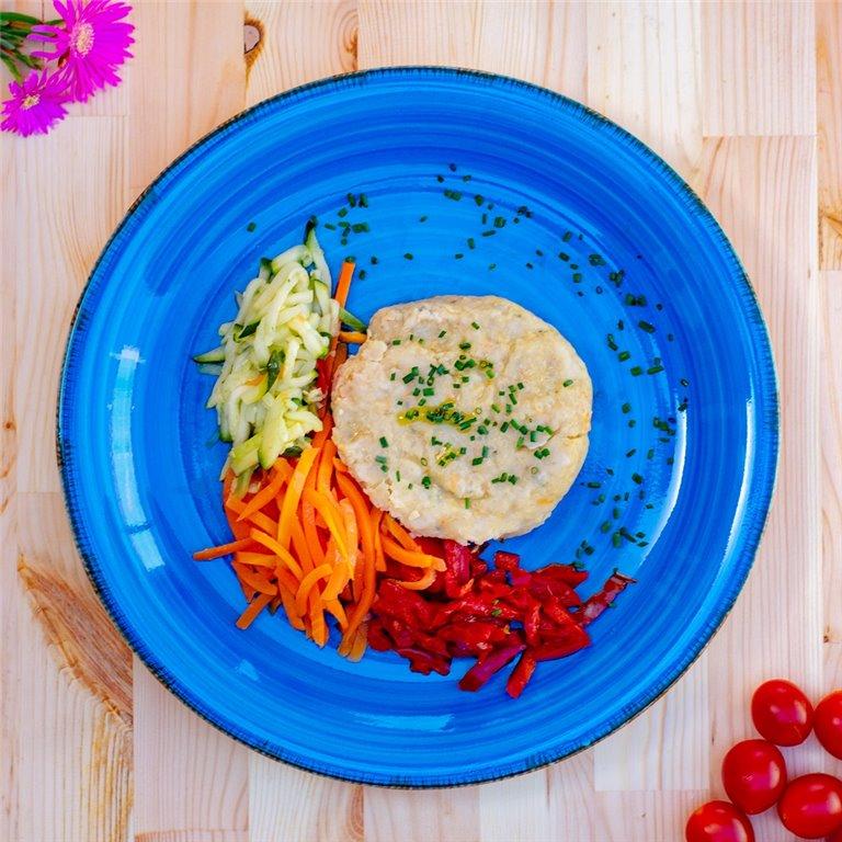 Hamburguesa de quinoa con verduritas, 1 ud