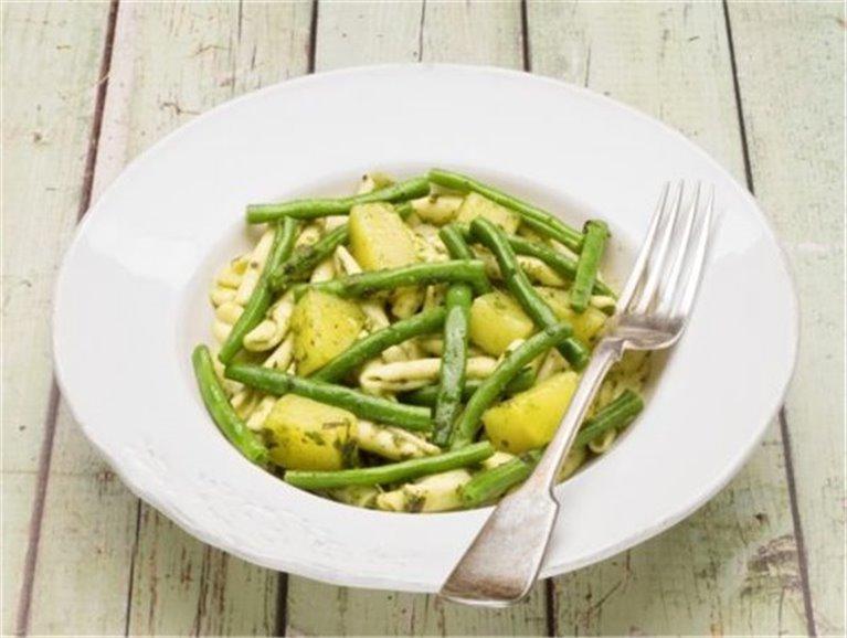 Judías verdes con patata