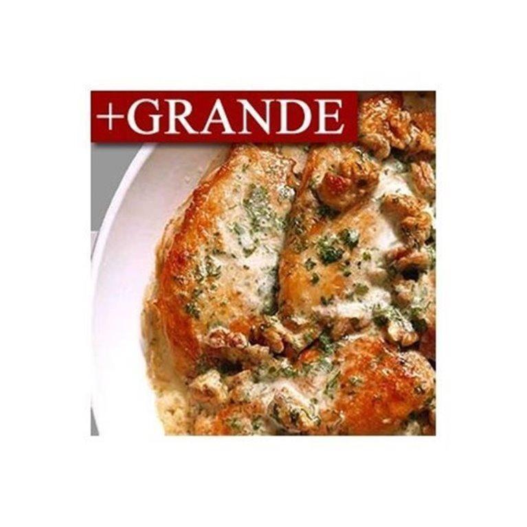 Jugosa Pechuga de Pollo a la Miel y Mostaza +GRANDE