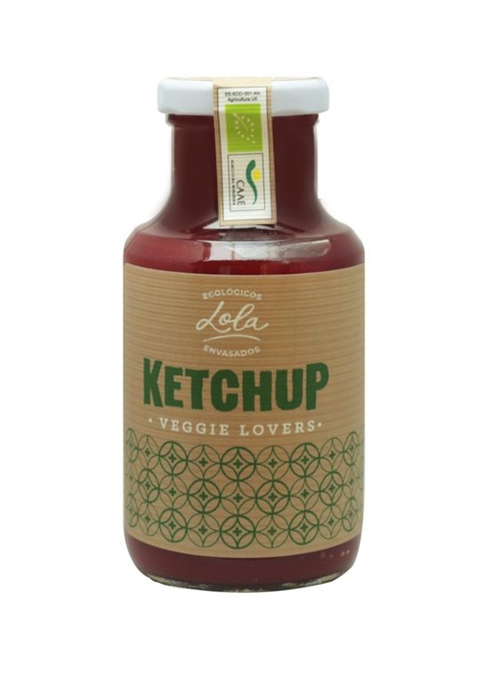 Ketchup Veggie Lovers ECO-BIO